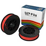 UP PLA Filament - Scarlet Organge 2-Pack (for UP Mini 2/UP BOX+ Printers)