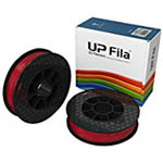 UP ABS Filament - Red 2-Pack (for UP Mini 2/UP BOX+ Printers)