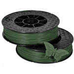 UP ABS Filament - Treetop Green 2-Pack (for UP Mini 2/UP BOX+ Printers)