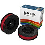 UP ABS+ Filament - Red 2-Pack (for UP Mini 2/UP BOX+ Printers)