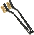 Nozzle Cleaning Brass Brush - 2 Pack