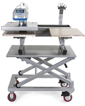 Heat Print Equipment Scissor Cart
