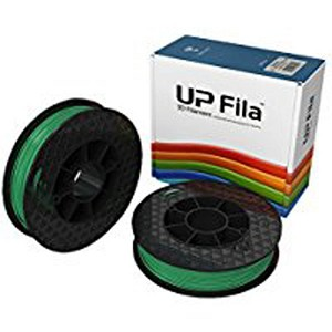 UP ABS Filament - Green 2-Pack (for UP Mini 2/UP BOX+ Printers)