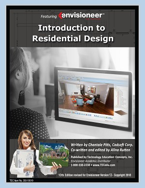 Introduction to Residential Design 10th Edition Using Envisioneer V13